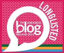 Blog Awards Ireland Longlisted