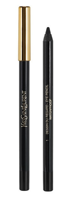 YSL €25 - Long Lasting Waterproof Eye Pencil in #11 Black Ink http://bit.ly/1ykebU5