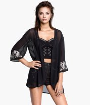H&M Kaftan and Studded Bustier