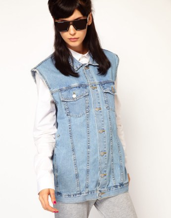 Cheap Monday Denim Gilet