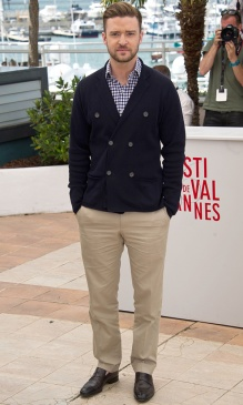 2013 - At the Cannes Film Festival supporting his film 'Runner Runner', donning a nautical look