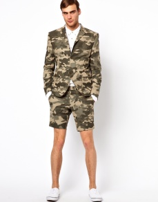 Vito Camo Short Suit