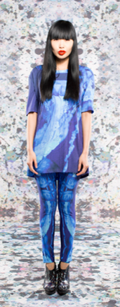 Darwin Unisex T-shirt & Blue Jelly Leggings