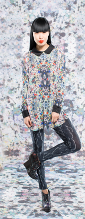 Libby Cici with Black Collar