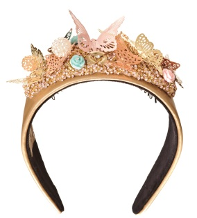 Marie Antoinette Fantasy Garden Hairband (Pink)