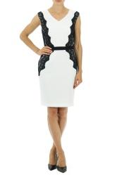 Lace Side Panel Dress