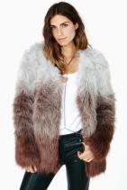 NASTYGAL In The Mood Faux Fur Coat €97.80