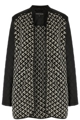WAREHOUSE Quilted Faux Leather Sleeve Jacket €89.50