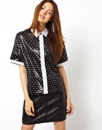 ASOS Shirt in Cut About Wetlook Spot Print €52.05