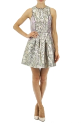 A|Wear €30 - Galactic Foil Racer Dress