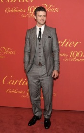 2009 - Donning a three-piece suit at a Cartier celebrations party, JT was so close from outfit-perfection