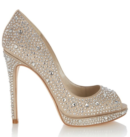 Karen Millen €300 - Limited Edition Crystal Embellished Heels