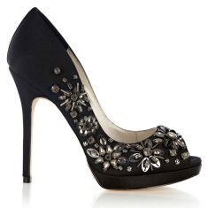 Karen Millen €205 - Jewel Encrusted Peeptoes
