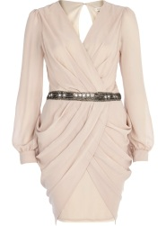 River Island €30 - Sequin Waist Draped Dress