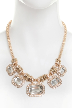 A|Wear €15 - Five Stone Placement Necklace