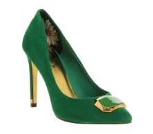 Ted Baker €150 - Roquet Brooch Adorned Heel