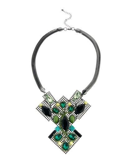 ASOS €60.65 - Premium Puzzle Jewel Necklace