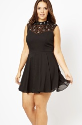 New Look €28 - Inspire Embellished Yoke Dress