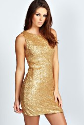 Boohoo €55 - Jasmine Open Back Sequin Bodycon http://www.boohoo.com/restofworld/page/home