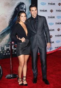 Chloe Bennet & Brett Dalton at LA Premiere