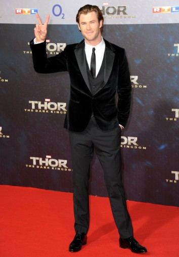 Chris Hemsworth at Berlin Premiere