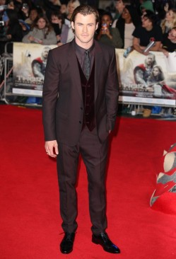 Chris Hemsworth at London Premiere