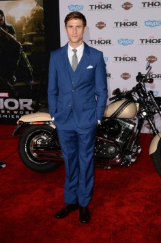 Jonathan Howard at LA Premiere