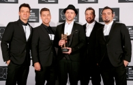*NSYNC with Justin's Vanguard Award