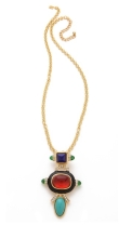 Kenneth Jay Lane €142.60 - Deco Pendant Necklace