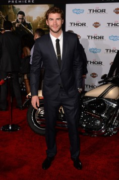 Liam Hemsworth at LA Premiere