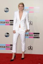 2013 AMAs - wearing Versus Versace & Saint Laurent
