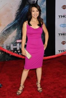 Ming-Na Wen at LA Premiere
