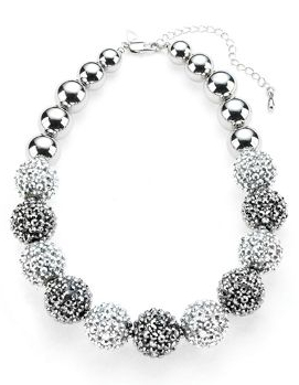Marks & Spencers €20 - Per Una Disco Ball Collar Necklace