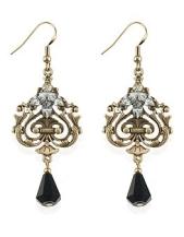 Marks & Spencers €20 - M&S Collection Deco Diamanté Drop Earrings