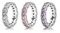 Pandora €129 (each) - Baquette Eternity Ring