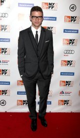 2010 - Attending 'The Social Network' premiere, in a smart three-piece suit