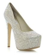 Steve Madden €118 - Deeva Rhinestone http://www.dunelondon.com/deeva-sm-rhinestone-encrusted-platform-court-shoe-0608508150043433/