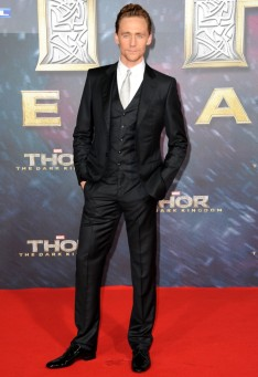 Tom Hiddleston at Paris Premiere