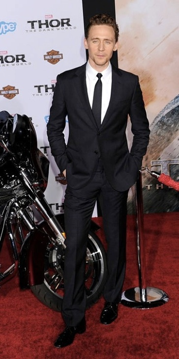 Tom Hiddleston at LA Premiere
