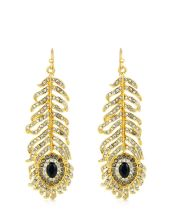 Juicy Couture €50.50 - Feather Drop Earrings