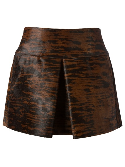 Isabel Marant €1,380 - Animal Print Mini Skirt