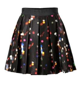 Milly €280 - Multicolour Spot Skater Skirt