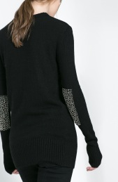 Zara €49.95 - Sweater with Rhinestone Elbow Patches http://www.zara.com/ie/en/woman/knitwear/sweater-with-rhinestone-elbow-patches-c269190p1530033.html