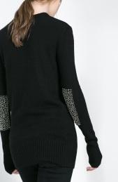 Zara €49.95 - Sweater with Rhinestone Elbow Patches http://www.zara.com/ie/en/woman/knitwear/sweater-with-rhinestone-elbow-patches-c269190p1530033.html