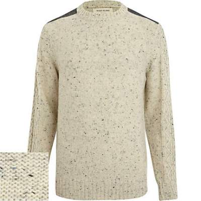 River Island Ecru Sweater