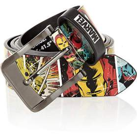 Marvel Comic Book Belt