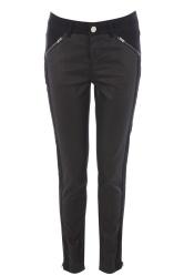 Oasis €59 - Tara Patched Denim Biker Jeans http://tinyurl.com/pbtwud8