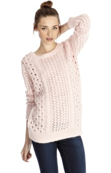 Oasis €47 - Pretty Pointelle Jumper http://www.oasis-stores.com///fcp-product/3610189145