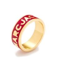 Marc Jacobs €31.46 - Enamel Dreamy Logo Ring http://tinyurl.com/omrwcbk