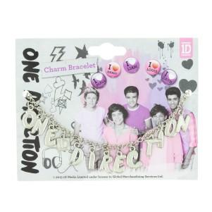 One Direction Charm Bracelet
